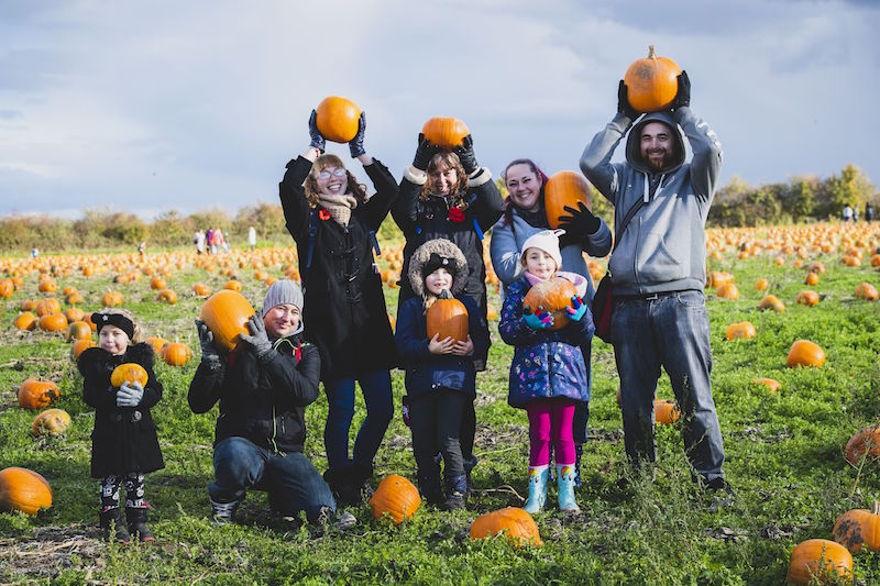 West-Malling-charity-Spadework-is-busy-harvesting-pumpkins-for-Halloween2