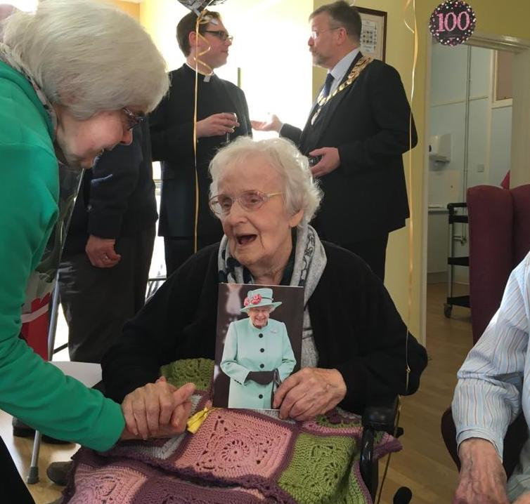 Beryl-celebrates-her-100th-birthday-with-cake--laughter-and-plenty-of-guests-1