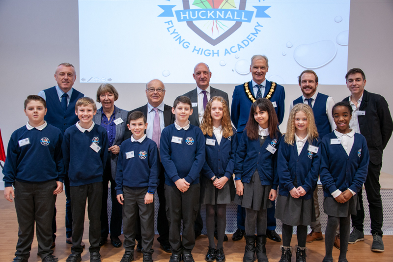 New-primary-school-celebrates-grand-opening-in-Hucknall