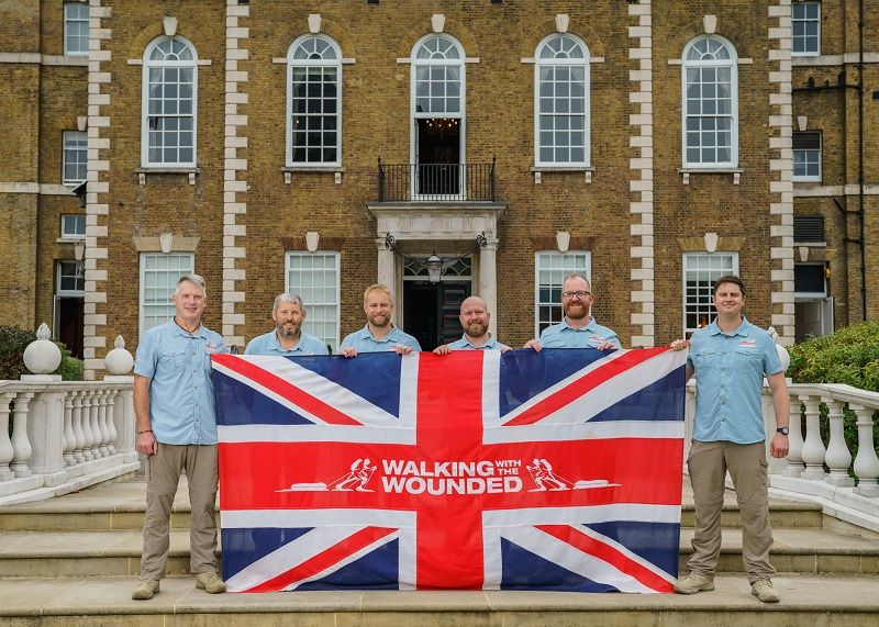 Countdown on for epic Walking with Wounded trek from London to Oman