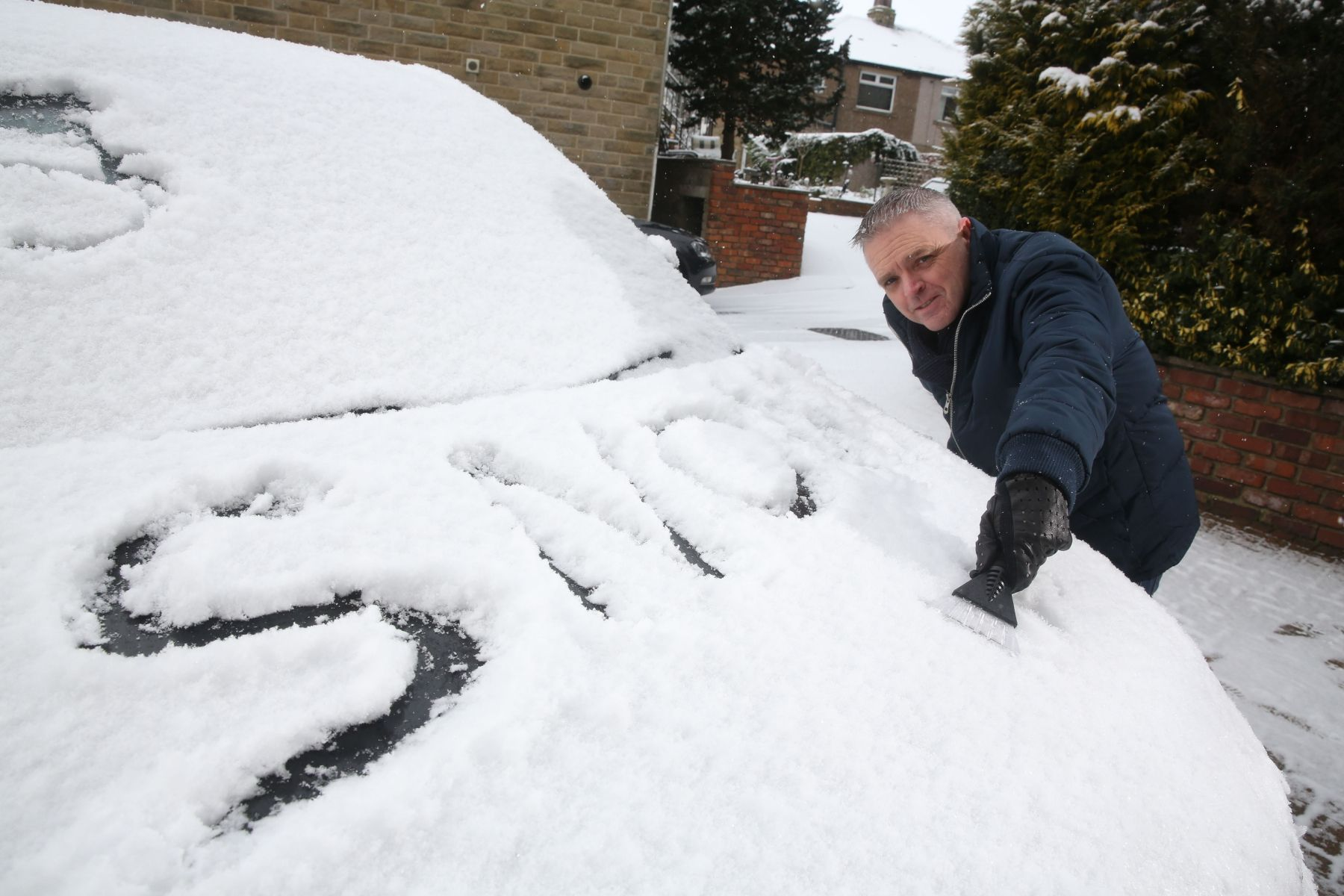 Snow expected today as yellow weather warning is issued for Newark