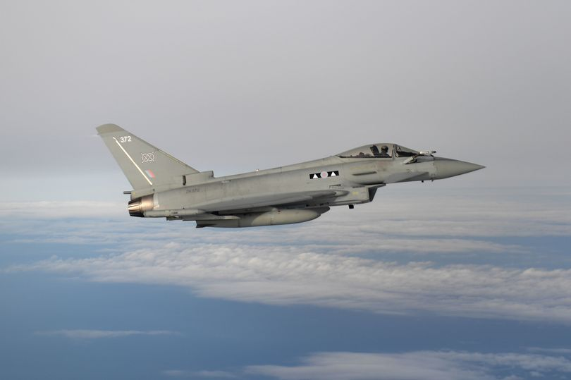 RAF fighter flies supersonic to intercept mystery aircraft near London