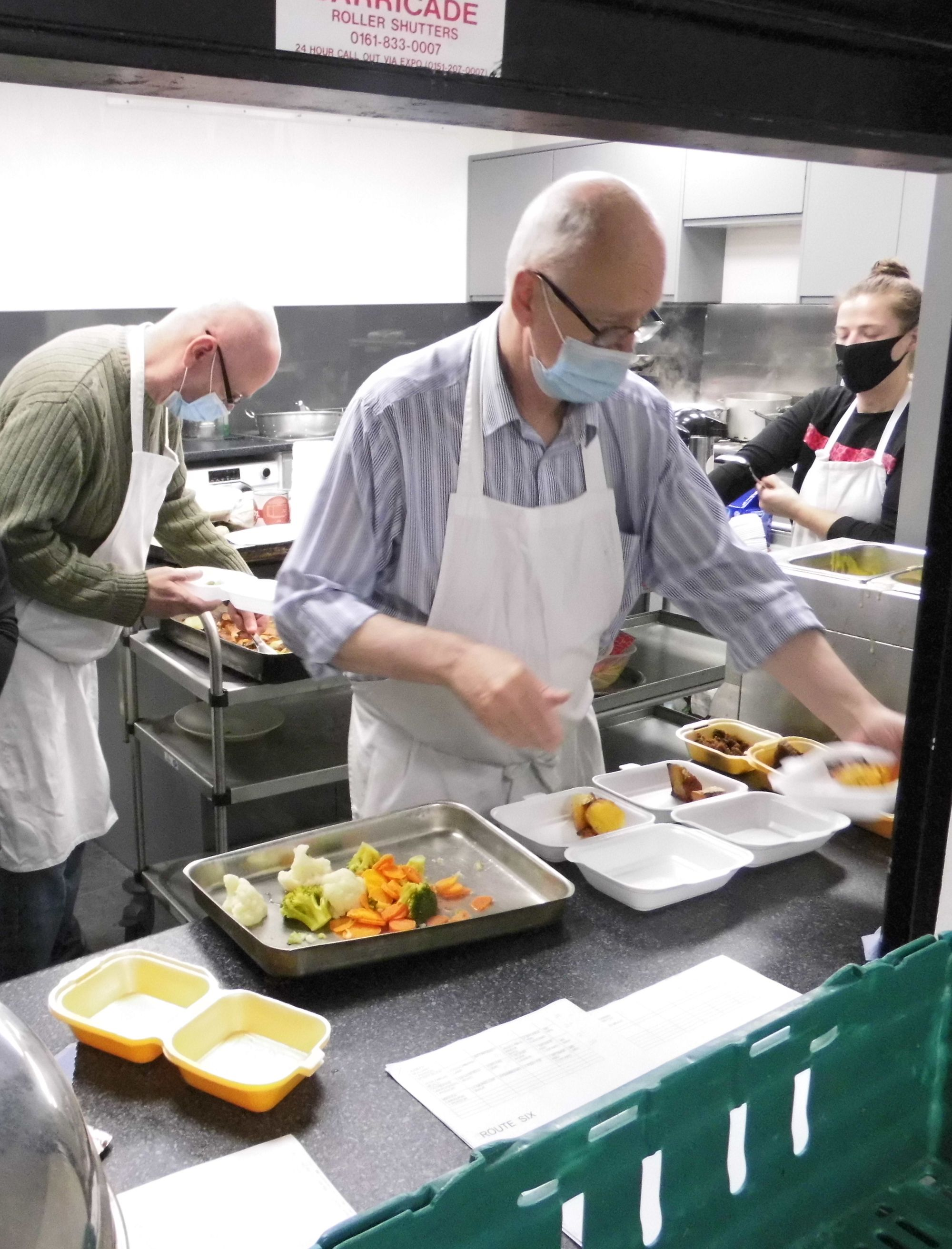 New kitchen feeds vulnerable people in Harpurhey community