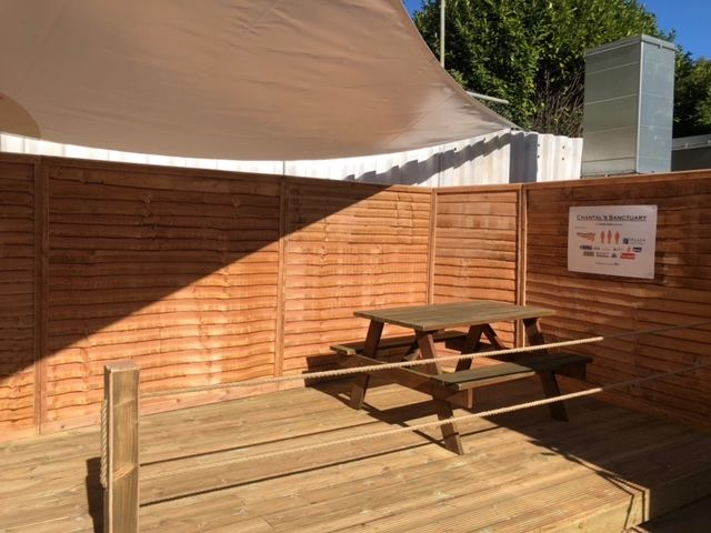 - NHS2 - New outdoor space at Nightingale Hospital in Exeter