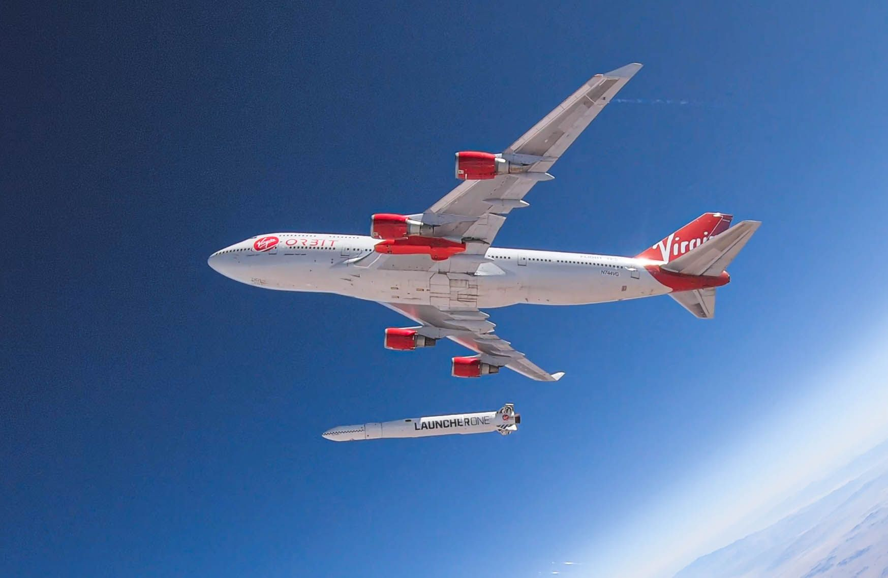 - JS212530286 - Kernow Sat 1 will be first satellite launched into space by Virgin Orbit from Cornwall