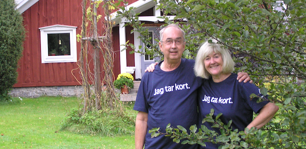 Lena and Sven-Erik