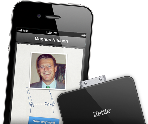 Magnus, iZettle Founder and CFO