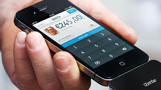 iZettle 2.0 on iPhone