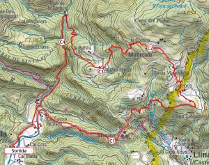 Mapa del recorregut