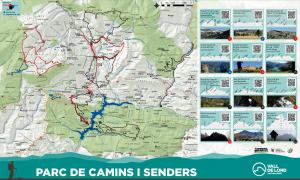 Nou mapa de camins de la Vall de Lord