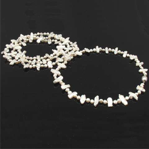 Luxe Pearl Necklace by Jacqueline Shaw