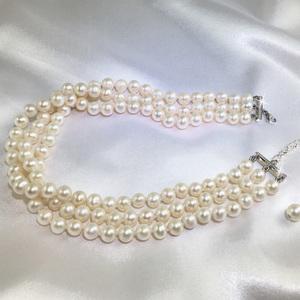 Monaco pearl choker by Jacqueline Shaw