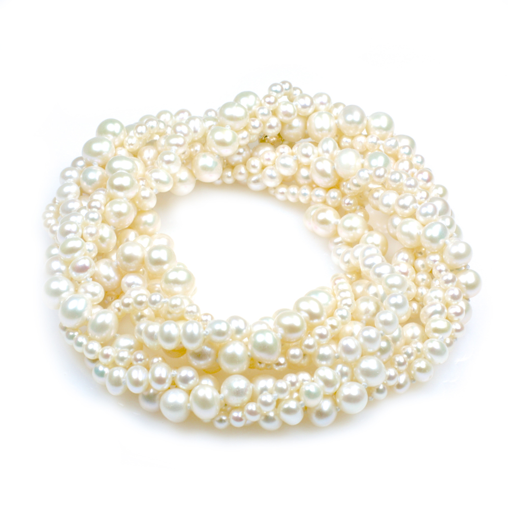 db84e68c3cfdc Moulin Rouge - Versatile 3 Strand 1920's Pearl Necklace - 25