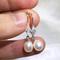Natalie - dainty freshwater pearl earrings by Jacqueline Shaw London