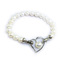 Elastic Heart - clever transforming pearl bracelet and pendant by Jacqueline Shaw London
