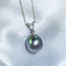 Veronica - large Tahitian pearl pendant by Jacqueline Shaw