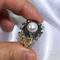 Tresor - art deco pearl ring design by Jacqueline Shaw London