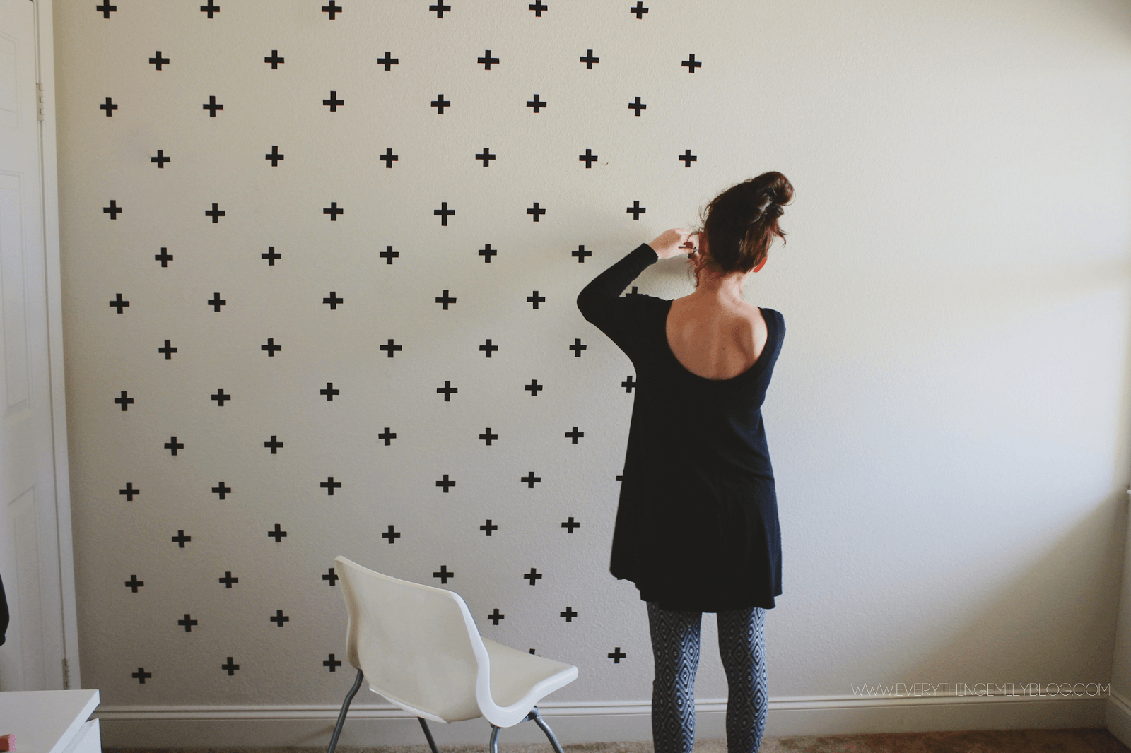 washi-tape-on-student-room-walls