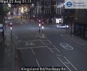 Kingsland Road / Hackney Road traffic camera.