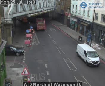 A10 North of Waterson Street traffic camera.