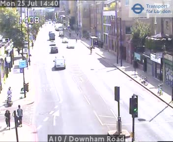 A10  /  Downham Road traffic camera.