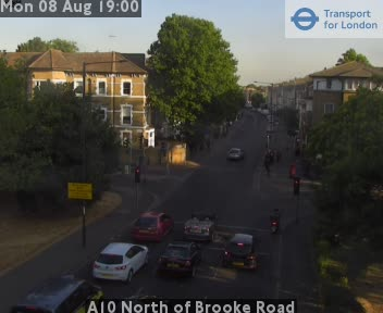 A10 North of Brooke Road traffic camera.