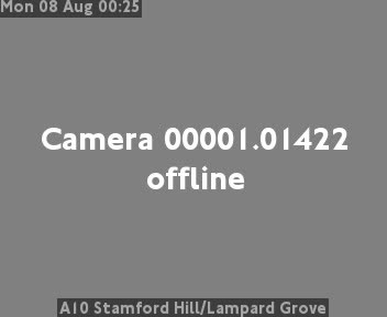 A10 Stamford Hill / Lampard Grove traffic camera.