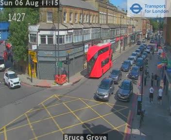 Bruce Grove traffic camera.
