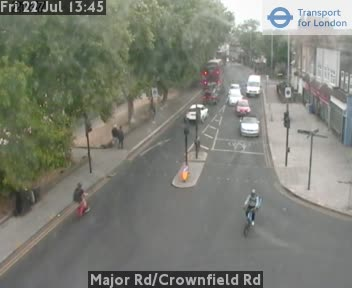 Major Road / Crownfield Road traffic camera.