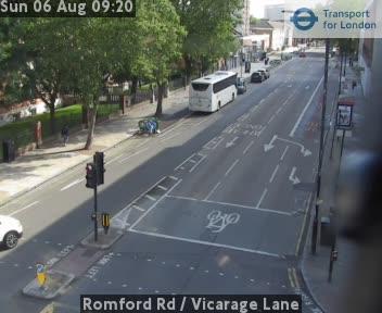 Romford Road - Vicarage Lane
