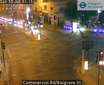 Commercial Road / Belgrave Street traffic camera.