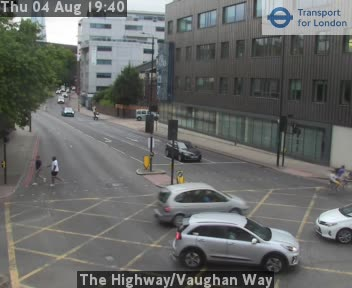 The Highway / Vaughan Way traffic camera.