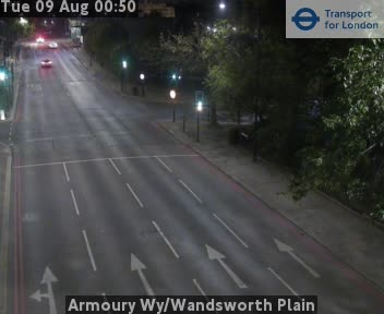 Armoury Way / Wandsworth Plain traffic camera.