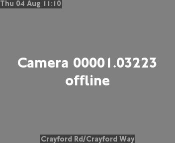 Crayford Road / Crayford Way traffic camera.
