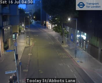 Tooley Street / Abbots Lane traffic camera.