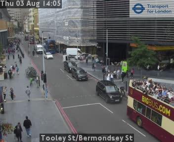 Tooley Street / Bermondsey Street traffic camera.