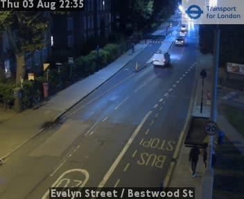 Evelyn Street  /  Bestwood Street traffic camera.