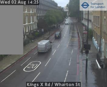 Kings X Road  /  Wharton Street traffic camera.