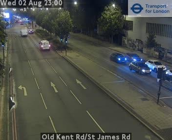 Old Kent Road / St James Road traffic camera.