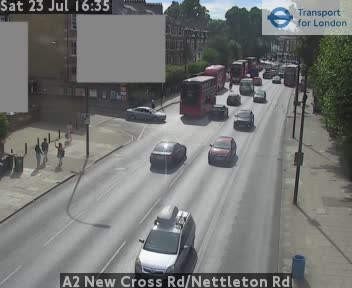 A2 New Cross Road / Nettleton Road traffic camera.