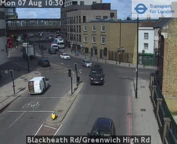 Blackheath Road / Greenwich High Road traffic camera.