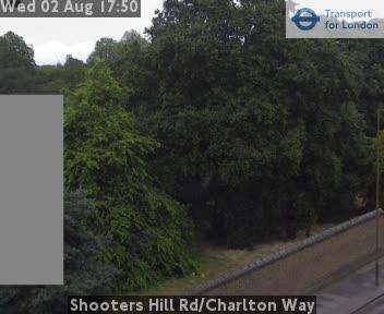 Shooters Hill Road / Charlton Way traffic camera.