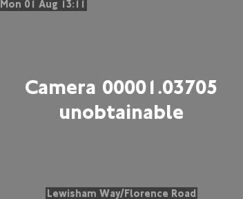 Lewisham High Street Courthill Road Traffic Weather Cam South East London