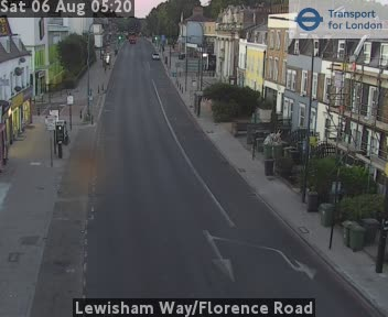 Lewisham Way / Florence Road traffic camera.