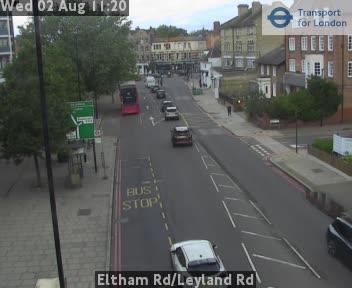 Eltham Road / Leyland Road traffic camera.