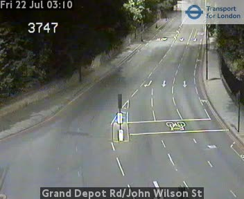 Grand Depot Road / John Wilson Street CCTV | London Traffic