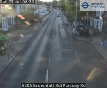 A205 Brownhill Road / Plassey Road traffic camera.