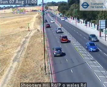 Shooters Hill Road / Prince of Wales Road traffic camera.