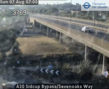 A20 Sidcup Bypass / Sevenoaks Way traffic camera.