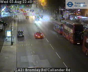 A21 Bromley Road / Callander Road traffic camera.
